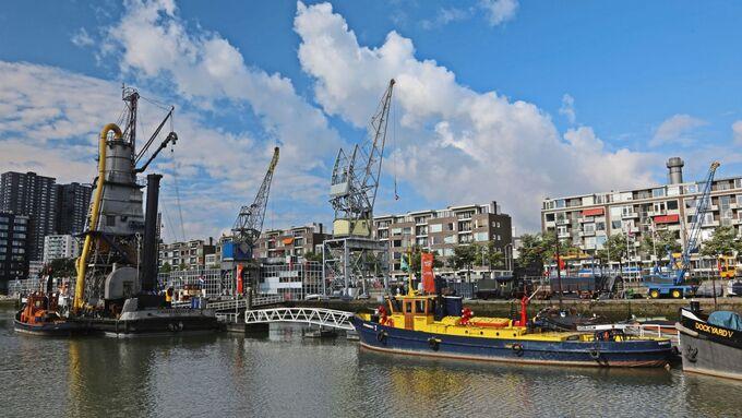 Abenteuer Rotterdam Holland Scania Fahrer Truckjob Lkw Sehenswürdigkeiten Stadt