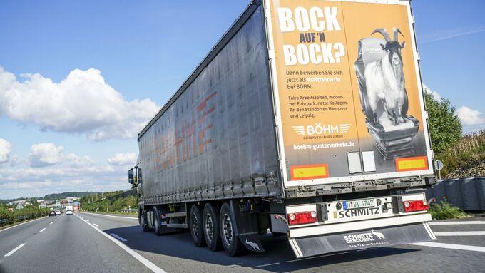 Böhm Güterverkehr, Ausbildung, Bock auf den Bock