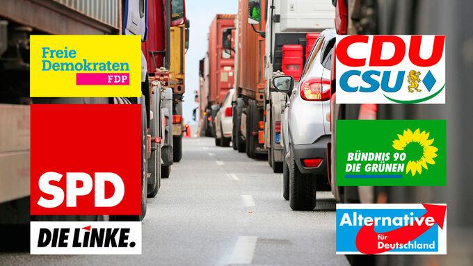 Bundestagswahl 2017, Parteien, Wahlkampf, Wahlprogramme