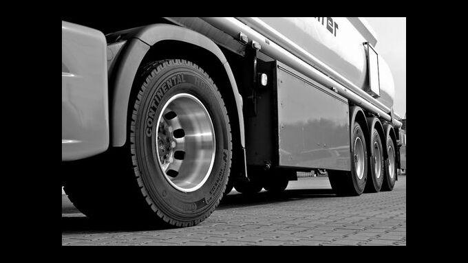 Continental erhöht die Preise von Lkw-Reifen