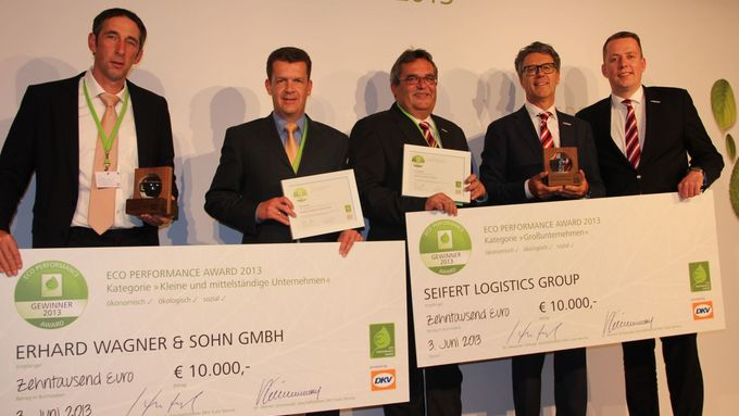 DKV ECO Performance Award, Preisverleihung 2013