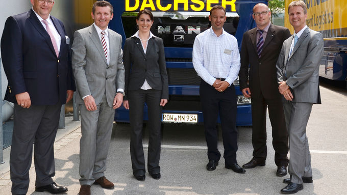Dachser, Euro-Leasing, MAN Rental, Transport Logistic, Faust