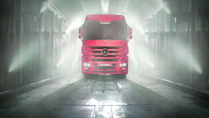 Daimler, Korrisionsprüfung