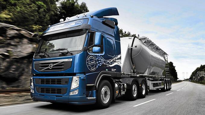 Entwicklung, LNG als Kraftstoff für Lkw, Volvo