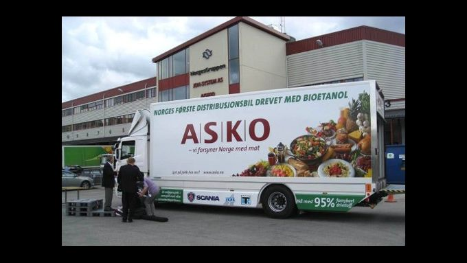 Erster Serien-Lkw mit Bioethanol-Antrieb