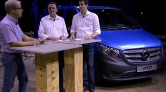 Expertenrunde zum neue Mercedes-Benz Vito