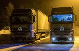 Forschung Daimler Trucks: Deutlich mehr Licht: Messbare Vorteile für Lkw-Fahrer durch künstliches Tageslicht im Fahrerhaus
