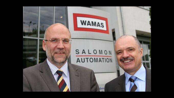 Franz Salomon/Salomon Automation und Rudolf Keller/SSI Schäfer.