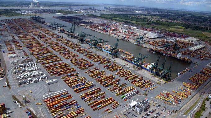 Hafen Antwerpen