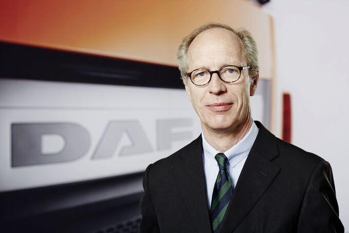 Heino Schroeder, Chef DAF Trucks Deutschland