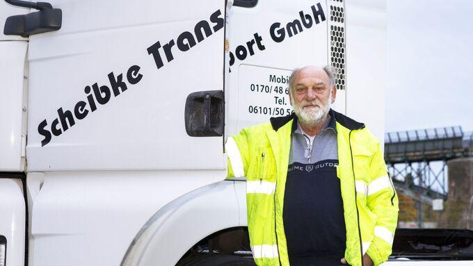 Horst Scheibkes, Porträt, Transportunternehmer
