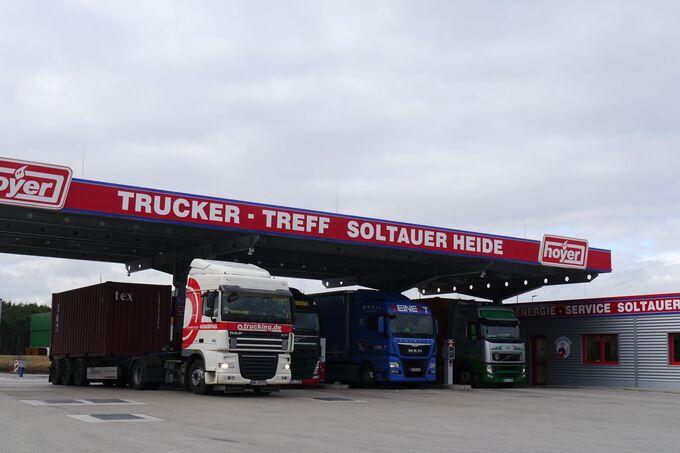 Hoyer Autohof Soltauer Heide, Truckstop FF 7/2017.