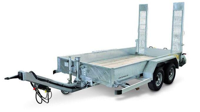 Humbaur, HS 504020 BS, HS 654020 BS, Tieflader, Baumaschinen