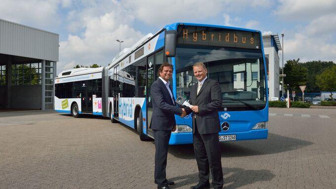 Hybridbus, Münster, 2012