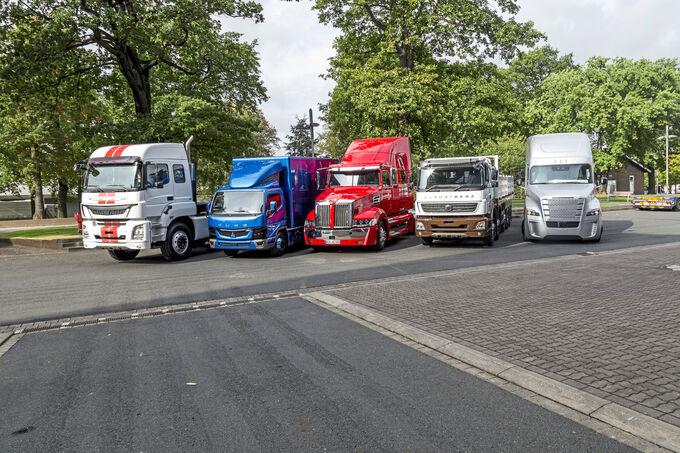 IAA 2016 World Trucks Daimler Bharat-Benz