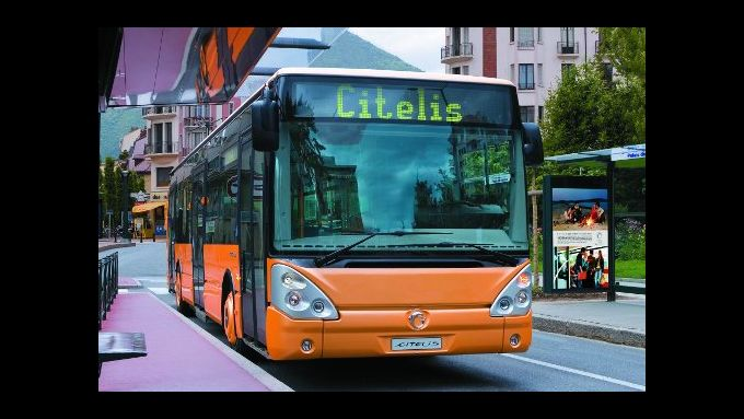 Irsibus kündigt Hybrid Citelis an