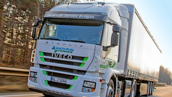Iveco Stralis 440S33 CNG, Natural Power