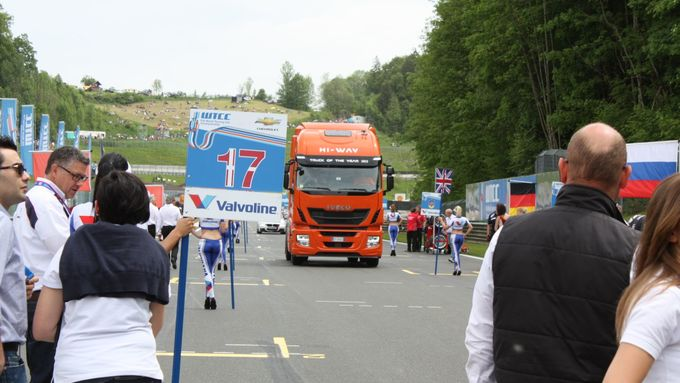 Iveco Stralis, Orange, FIA, WTCC