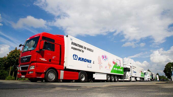 Krone Charity-Tour, Polen, 2012