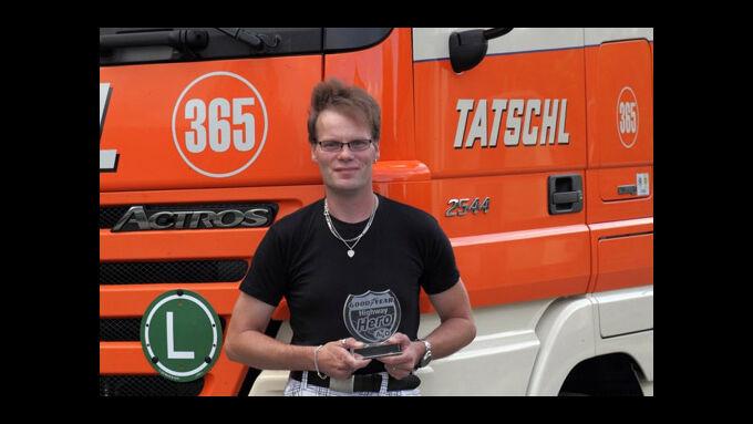 Lkw-Fahrer Jörg Ballsieper ist der #x84;Highway Hero#x93; im August