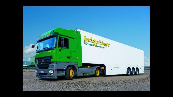 Logistik auf zehn Rädern