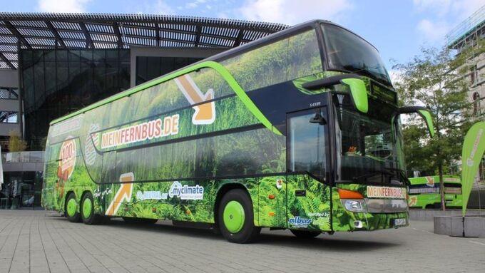 MeinFernbus, 100. Fernbus, ZOB München