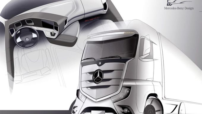 Mercedes-Benz Actros Design