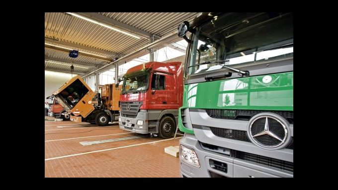 Mercedes-Benz startet mit TruckWorks