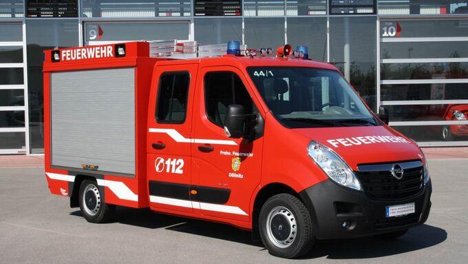 Opel, Movana, Feuerwehr, TSF