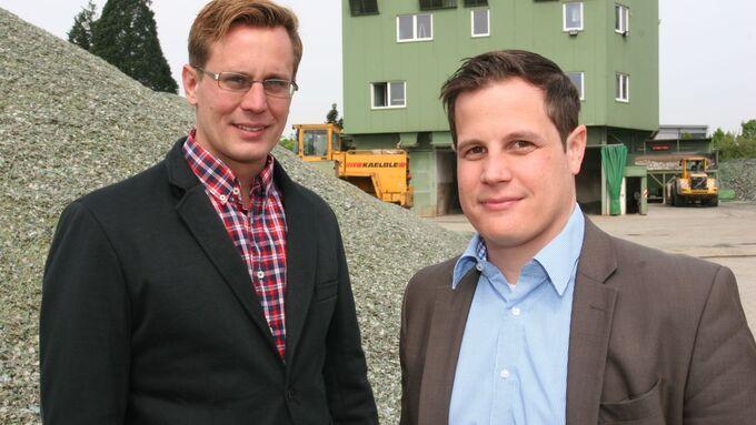 Phillip Bürck (links) und Steffen Habich, Bürck Habich
