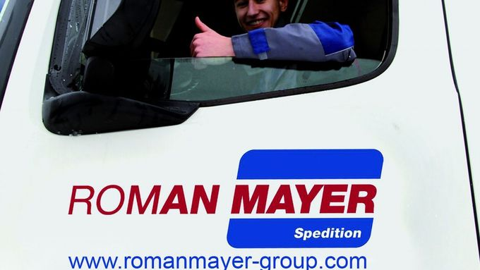 Roman Mayer, Logistik, Spedition, Ausbildung