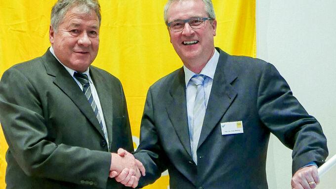 SVG, Verkehrsgewerbe, Peter Welling (r.) und Arno Lauth