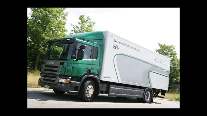 Scania: P-Reihe mit stärkeren Motoren