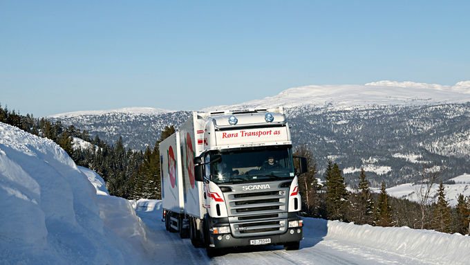 Scania, R580, Winterreifen