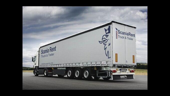 Scania erweitert Mietangebot von Lkw und Trailer