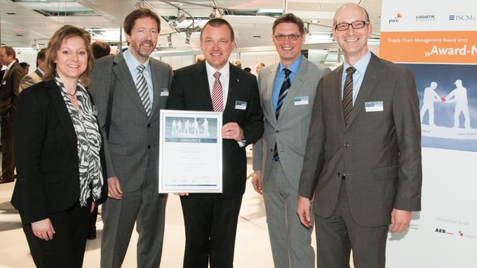 Schmitz Cargobull Supply Chain Management Award 2012