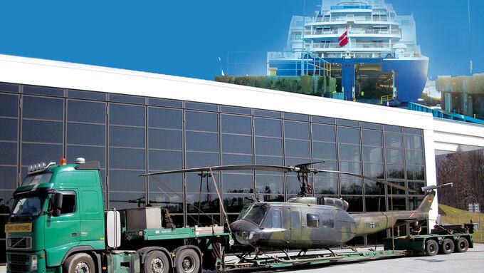 Schwandner Logistik, Transport, Spezialtransporte