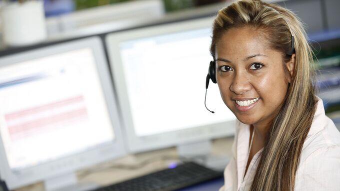 Service-Hotline bei Andreas Schmid Logistik