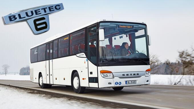 Setra Multiclass S 415 H Euro 6, Sonderfahrt