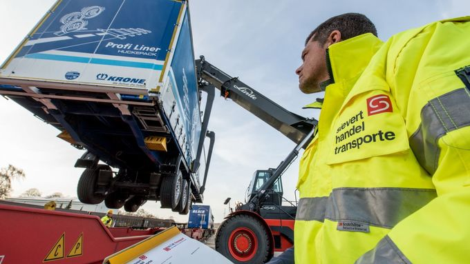 Sievert Handel Transporte, DS Smith, Pilotprojekt, Intermodal