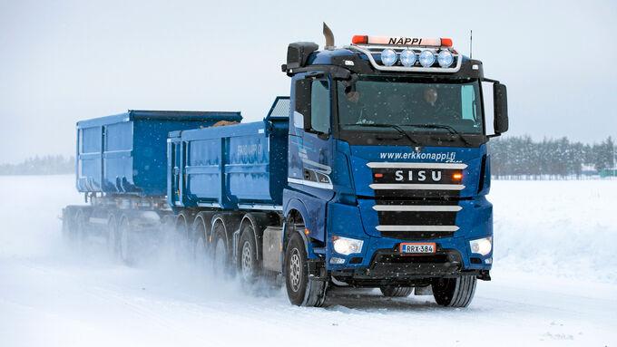 Sisu Polar Rock 625, Fahrzeuge, Nappi