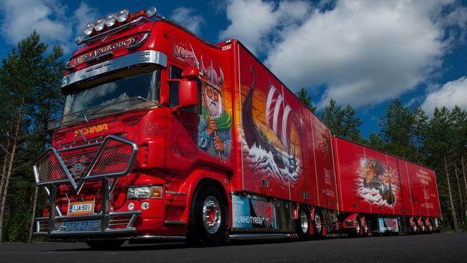 Supertruck FERNFAHRER 13-2010, Scania quot;quot;Vikingquot;quot; von Visa Valkonen aus Finnland