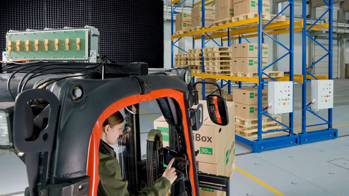 Test- und Anwendungszentrum L.I.N.K. des Fraunhoferinstitut Integrierte Schaltungen