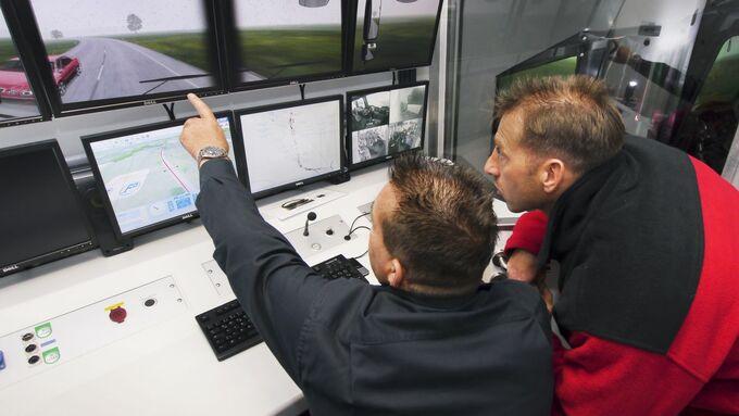 Training mit dem Simulator