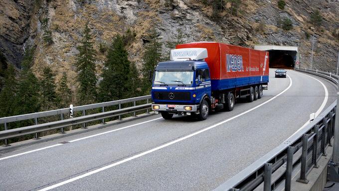 Transalp Trucking 2010