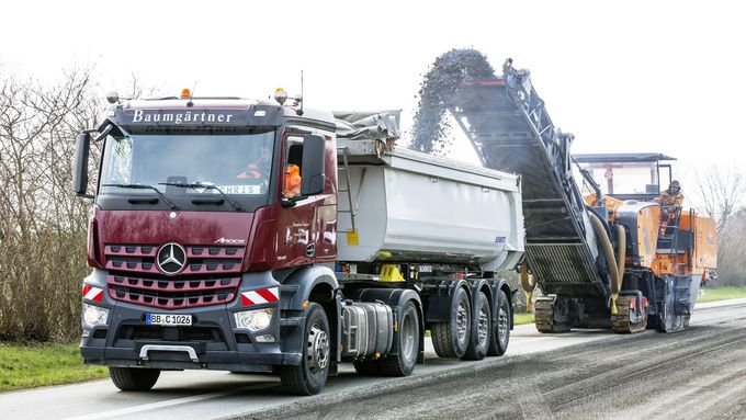 Truck Job Kiesfahrer