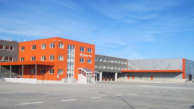 Umschlagzentrum in Prag
