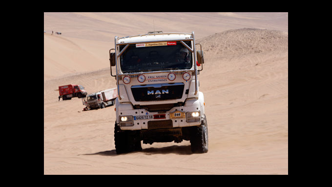 Verfolgen Sie die Rallye Dakar