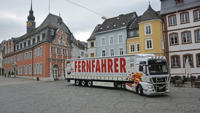 Vierter Fernfahrer Truck