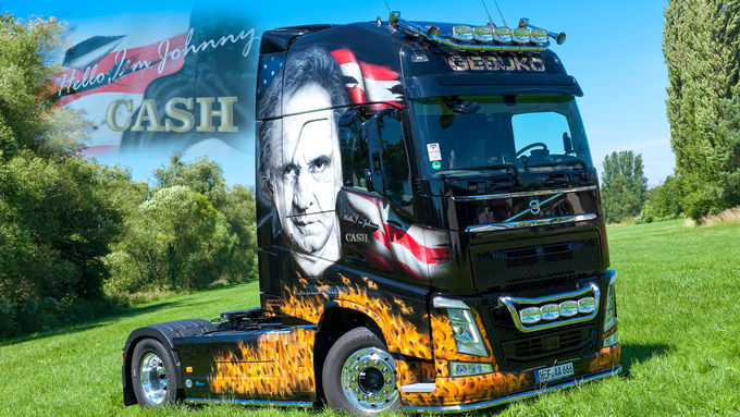 Volvo Johnny Cash, Supertruck